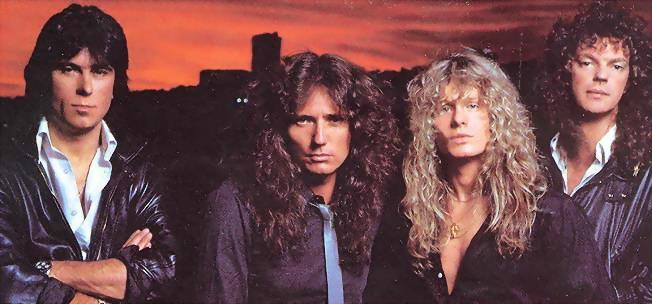 Whitesnake-4-Cozy Powell, David Coverdale, John Sykes, Neil Murray..