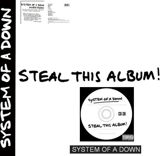 SYSTEM OF A DOWN-«Steal This Album»